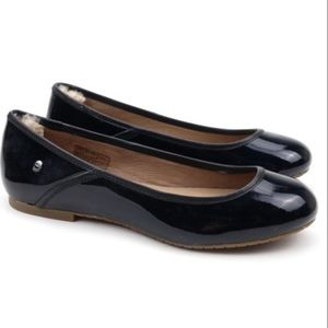 Ugg Antora Patent Leather Ballet Flats 8.5